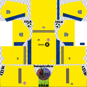Toronto FC DLS Kit 2021 gk away For DLS19