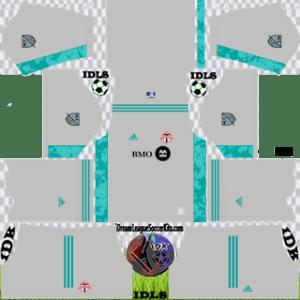 Toronto FC DLS Kit 2021 gk third For DLS19