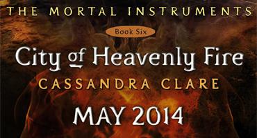 Capa de Cidade do Fogo Celestial será revelada hoje!