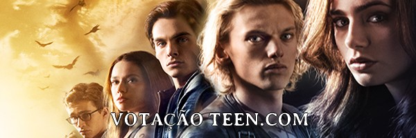 Votação no site Teen.com para a melhor celebridade do Twitter!