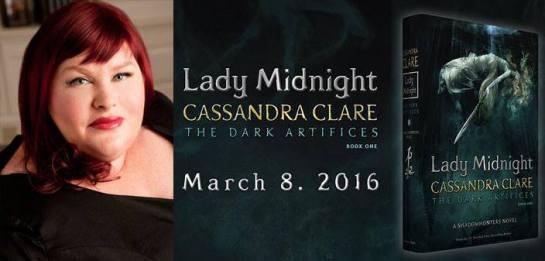 [ATUALIZADO] Datas da turnê de Cassandra Clare nos Estados Unidos