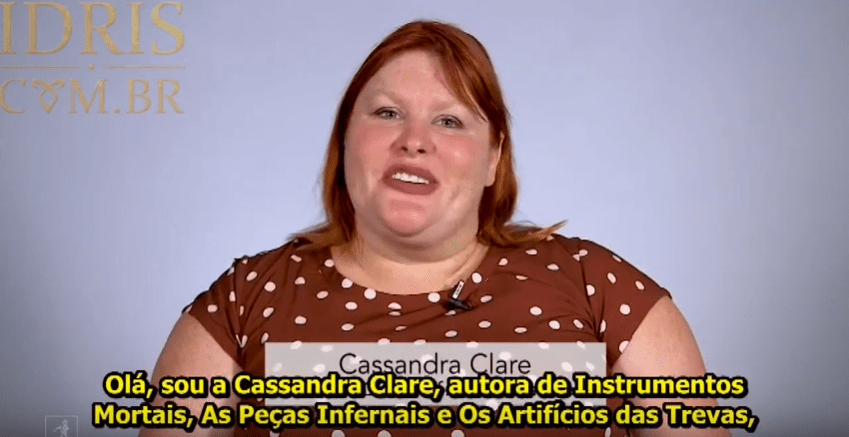 "[VIDEO LEGENDADO] Entrevista de Cassandra Clare sobre ""Queen of Air and Darkness"