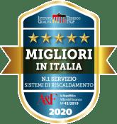 Vaillant Migliori in Italia n. 1 servizio sistemi di riscaldamento 2020