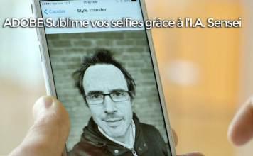 I.A. Sensei : Adobe sort une application ultime pour des selfies parfaits
