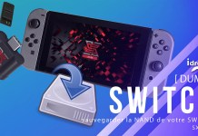 sauvegarder la nand de la switch