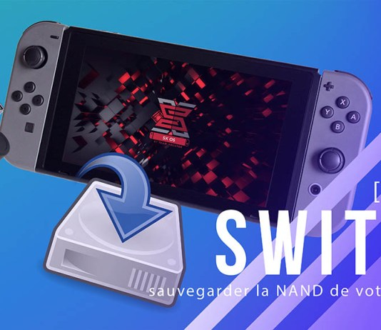 sauvegarder la nand de la switch
