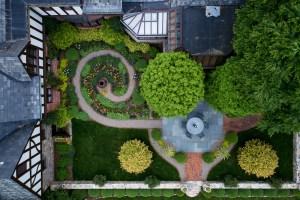 Aerial Garden Photo