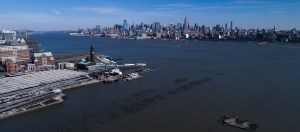 NYC Skyline with a Phantom 4 Pro Drone