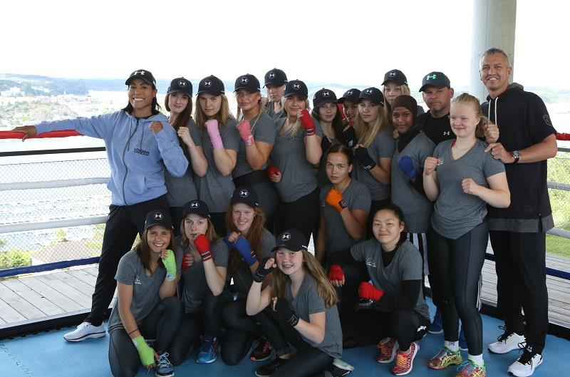 Encouraging girls to stay in combat sports ongoing inclusion the camp was hosted in collaboration with the norwegian boxing federation nbf and was a great success for the participating boxers ccuart Gallery