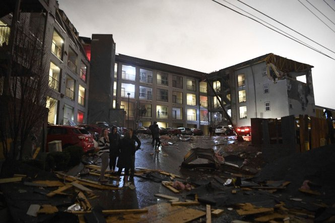 25 People Dead After 2 Tornadoes Shred