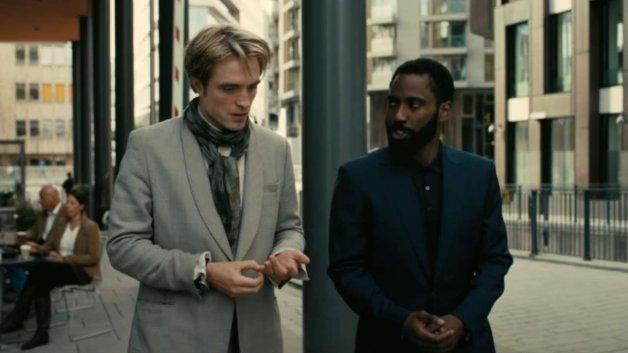 Los protagonistas de Tenet de Christopher Nolan