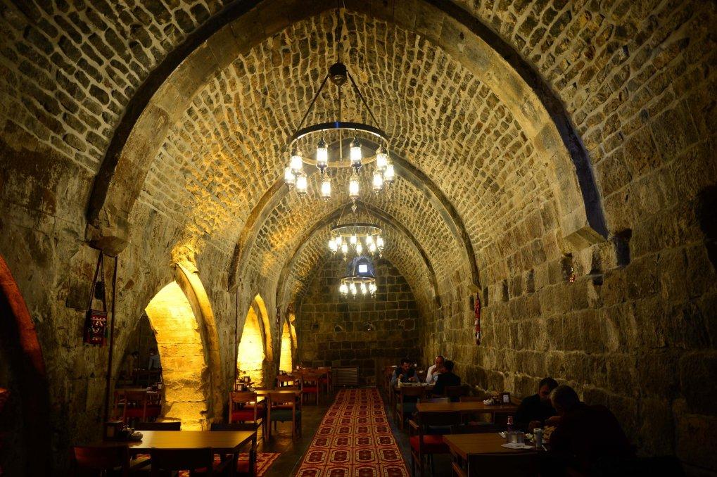 Une photo de l'intérieur de l'auberge Başhan, Bitlis, dans l'est de la Turquie, le 5 novembre 2020 (Photo AA)