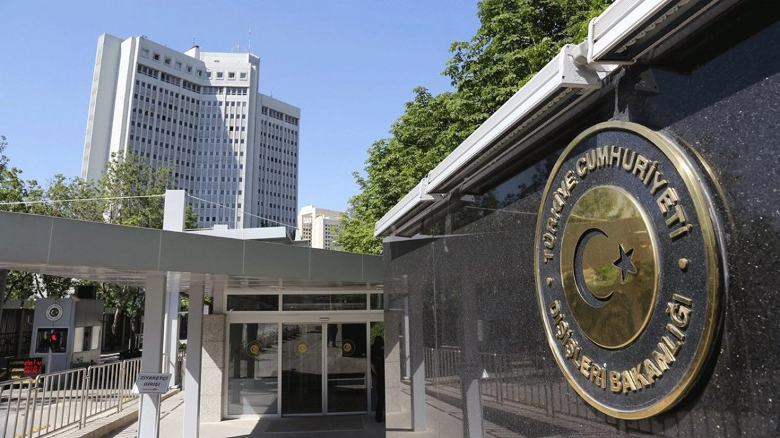 The Ministry of Foreign Affairs headquarters in the capital Ankara, Turkey. (File Photo)