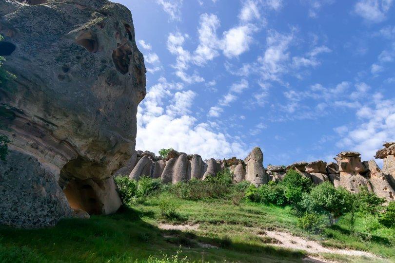 Frig Valley is a popular tourist attraction in Afyonkarahisar, Turkey. (Shutterstock Photo)