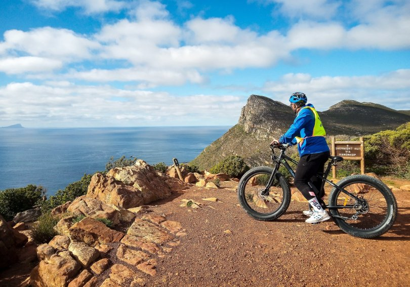 Between Cape Town and the Cape of Good Hope, there are many great choices for tours by e-bike. (Christian Selz/dpa Photo)
