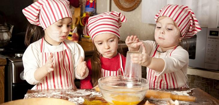 Little Kids Cooking
