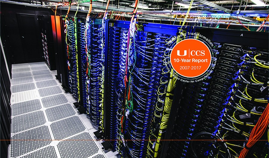 University of Miami Center for Computational Science 10-Year Report Cover 2007-2017