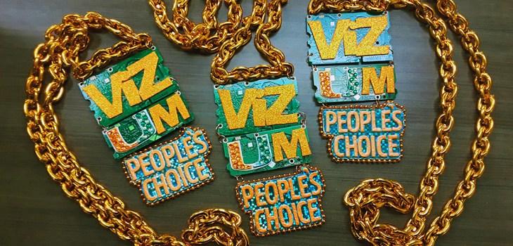 University of Miami VizUM 2018 turnover chain