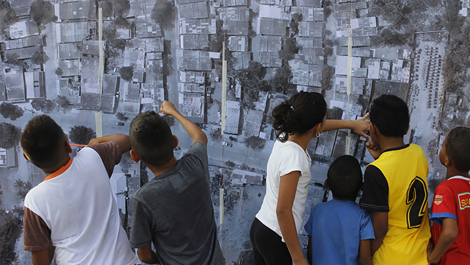Participatory Mapping, Las Flores, Barranquilla, Colombia