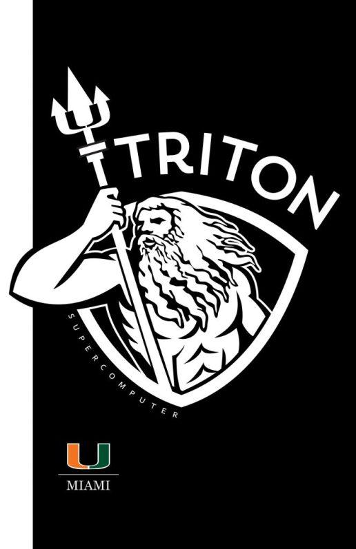 University of Miami TRITON Supercomputer launch event invitation front 2019