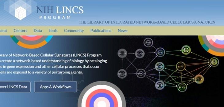 LINCS data portal