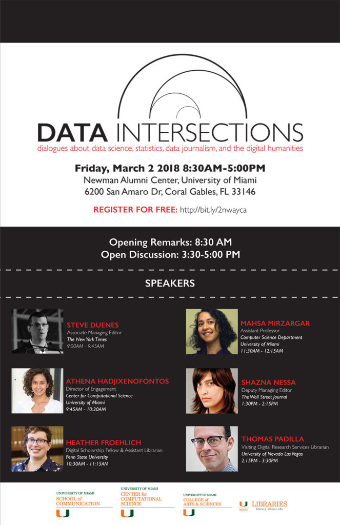 Data Intersections 2018 Poster