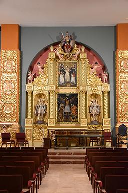 Main retablo at Nuestra Senora de la Merced Chapel, Allapattah, Miami