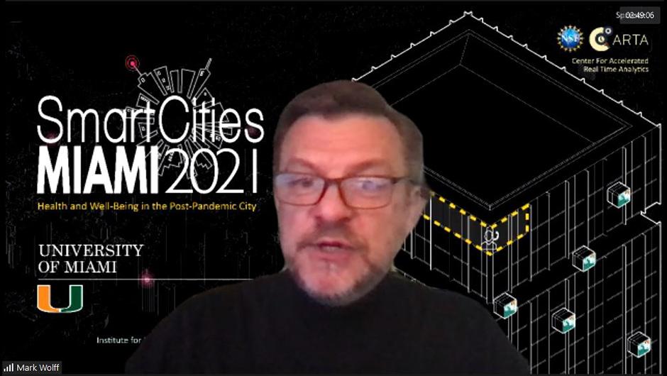 University of Miami Smart Cities MIAMI 2021 Conference Plenary Keynote Speaker Mark Wolff