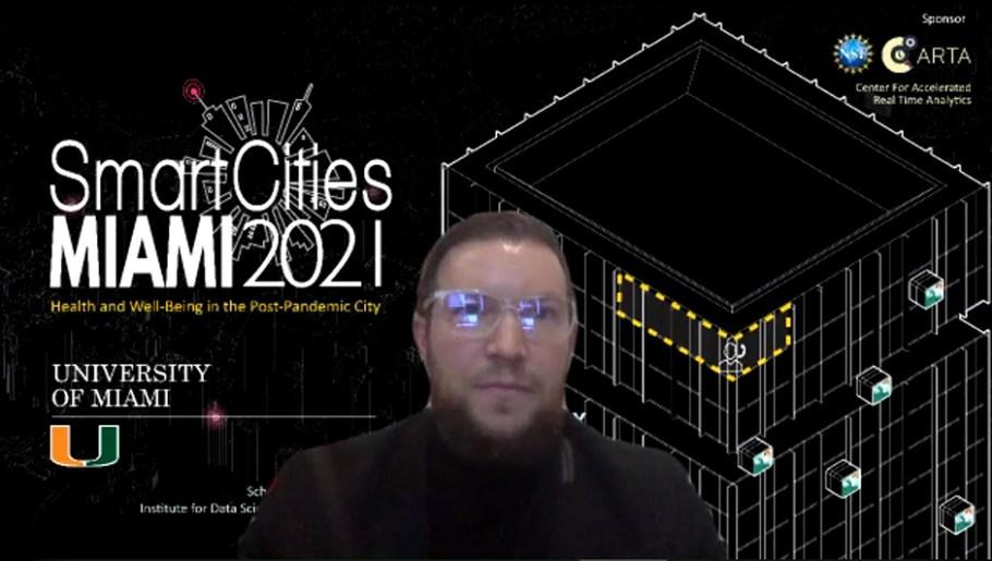 University of Miami Smart Cities MIAMI 2021 Conference Keynote Speaker Michael Mylrea