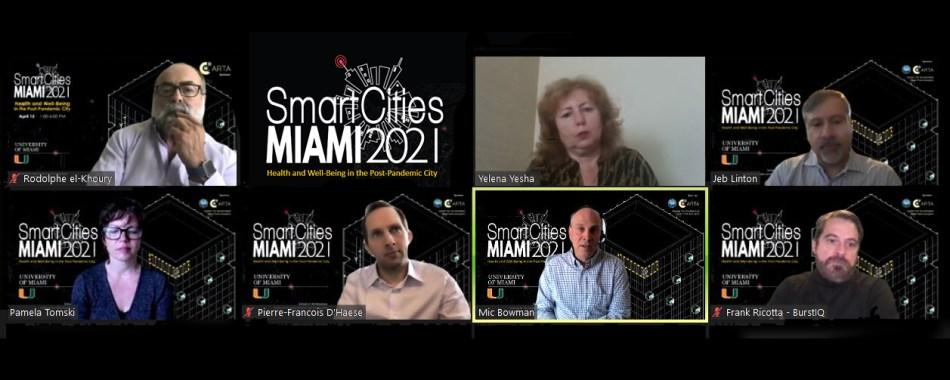 University of Miami Smart Cities MIAMI 2021 Panel 1 Healthcare in the Smart City