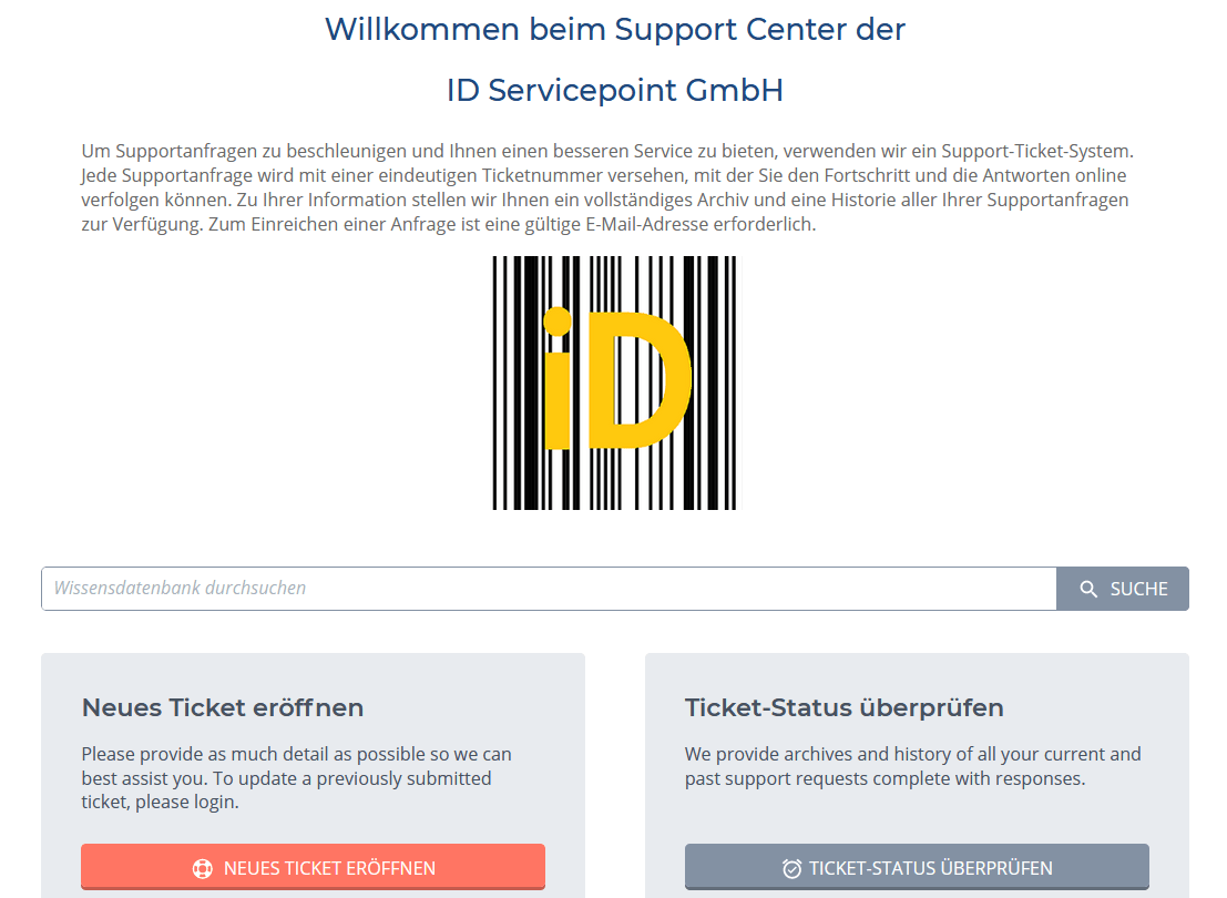Barcode Wiki System