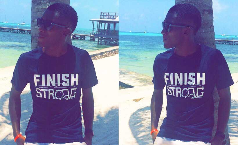June in Belize - Finish Strong T-Shirt
