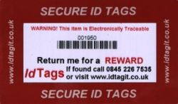 security tag standard