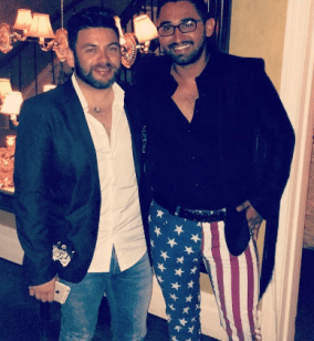 Bank of America fraudstart Mario Elizondo and George Cadenas following their long day on August 4 2016, of ripping off merchants on Fifth Avenue in Manhattan proceeded to Beauty and Essex and ripped that establishment off for nearly $1,000 in their food and bar tab. 2016 All rights reserved IDTheftReport2020.com