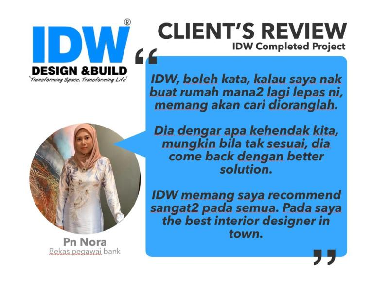 IDW Design Home Owner Review - Pn Nora