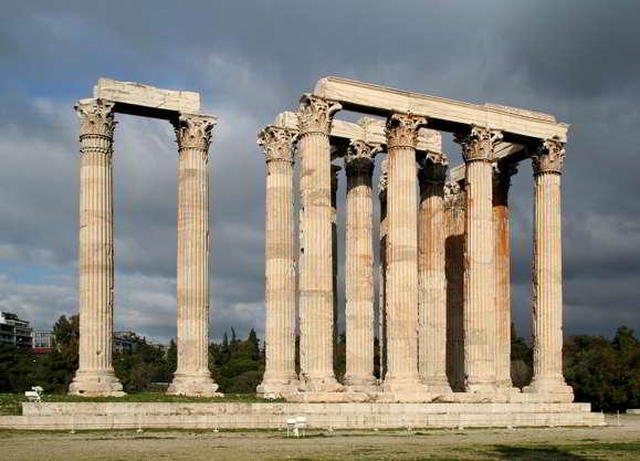 KUIL OLYMPIA ZEUS Terkenal di Yunani