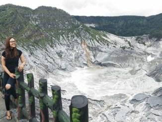 Keunikan Gunung Tangkuban Perahu di Bandung
