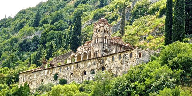 MYSTRAS Yunani Bikin Pengen Ke Sana