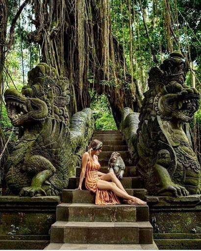 Wisata Ubud Monkey Forest di Bali