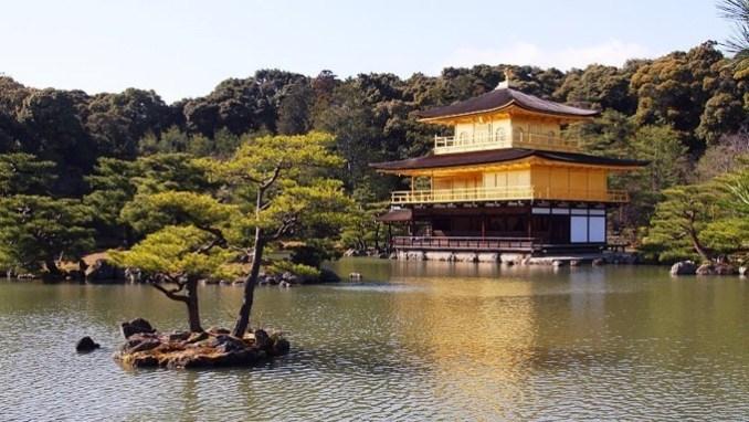 Golden Pavilion - Tempat Wisata Jepang