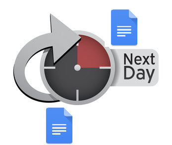 Next day data processing