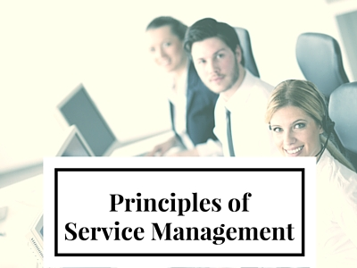 Principles of Service Management