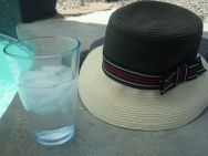 My 'Perfect for Palm Springs' Hat