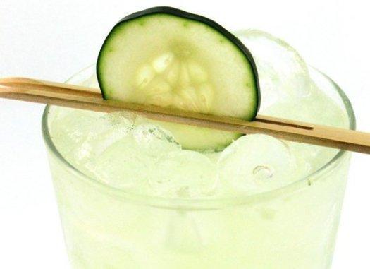Cucumber Basil Lime Gimlet