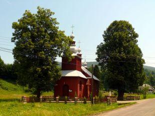 Bodaki, cerkiew greckokatolicka z 1902r.