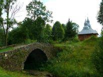 Olchowiec, 2011r. - zabytkowy mostek