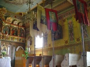 Przysłup wnętrze cerkwi