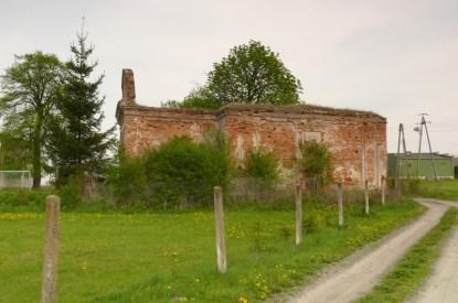 Chodywańce - ruina