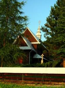 Rozdziele - drewniana cerkiew z Pogórza Przemyskiego