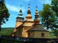 Świątkowa Mała, 2011r. - świeżo wyremontowana cerkiew